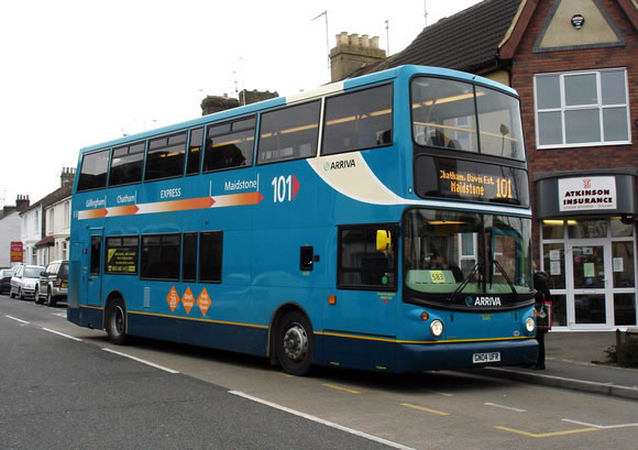 Arriva Bus in Maidstone