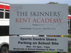 Kent School Signs