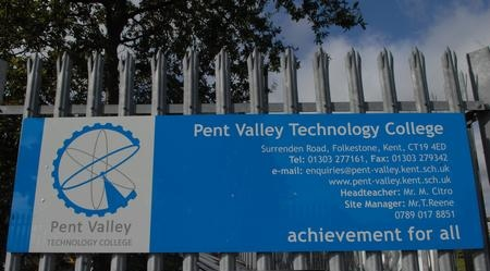 Pent Valley Sign 3